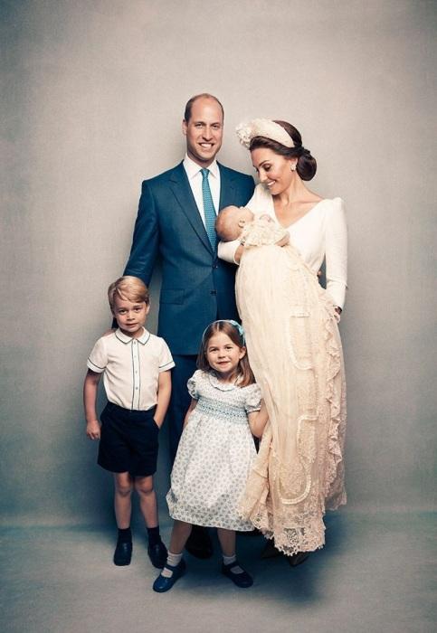 Уильям, Кейт, Джордж, Шарлотта, малыш Луи живут в самой лучшей резиденции Кенсингтонского дворца - 1A. | Фото: newsroyal.ru.