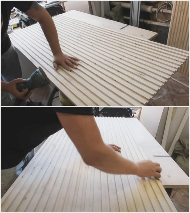 Шлифовка поверхности и углублений – очень важный процесс.