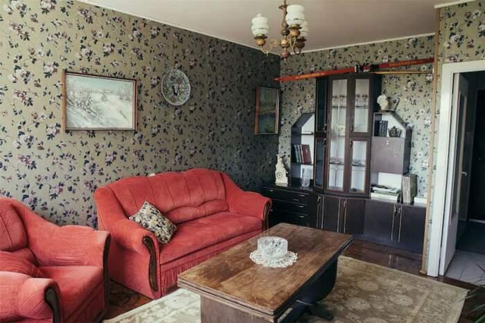 Такое обустройство гостиной могли позволить себе не все советские граждане. | Фото: kirill-potapov.livejournal.com.