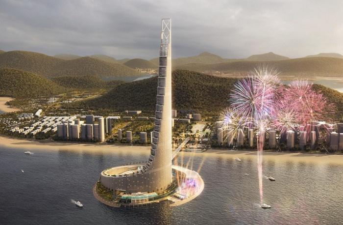 Zanzibar Domino Commercial Tower станет знаковым комплексом, который поспособствует развитию туризма (концепт). | Фото: it.constructionreviewonline.com.