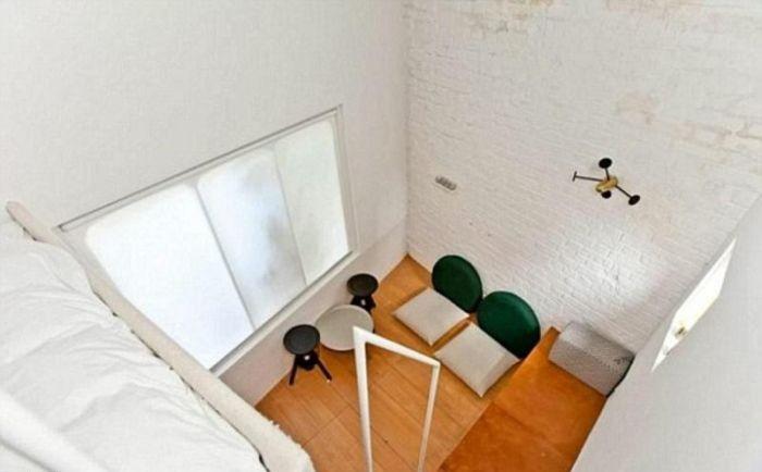Под каким ракурсом не смотри, а жилплощадь ну совсем уж крошечная (Ричмонд-авеню, Лондон). | Фото: roomble.com.