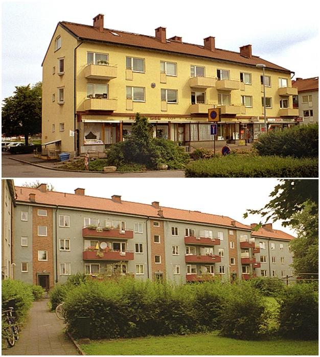 В Швеции нигде не увидите разношерстные окна и застекленные балконы, не говоря о сохнувшем белье за пределами квартиры.