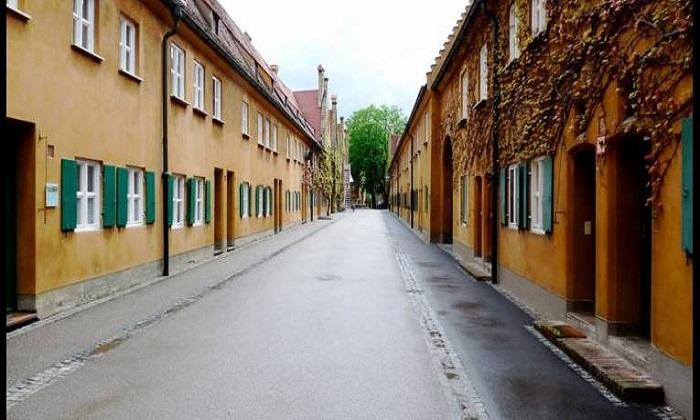 Каждое жилище имело отдельный вход.