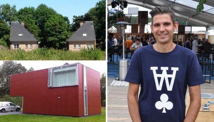 Ханнес Куденис – креативный фотограф и автор проекта «Уродливые дома Бельгии». | Фото: kuleuven.be.