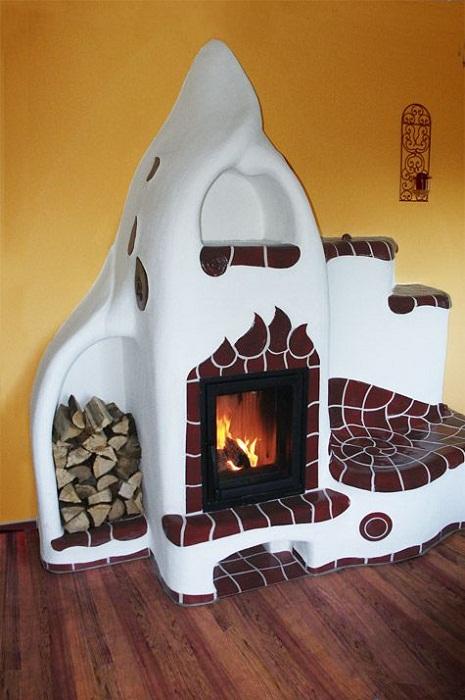 Русская печь в интерьере  создаст особенную атмосферу всему дому.