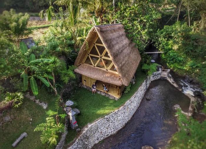Райский уголок для уединения и отдыха от городской суеты (Бали).