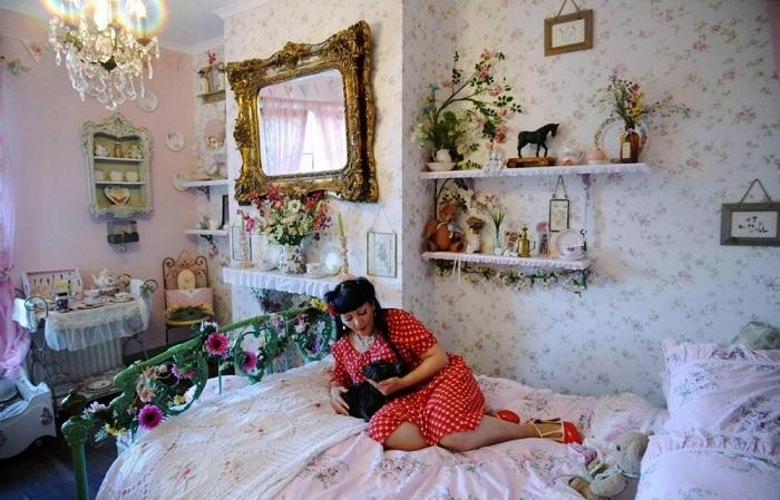 Британка Труди Эванс в своем преображенном доме.