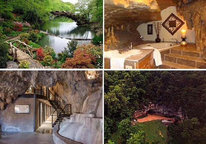 Главная особенность этого особняка в пещере – гармония с природой.
