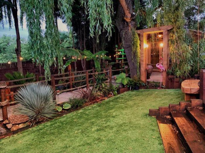 Потрясающий сад, созданный Кристофером Лоджем в его доме в Нортгемптоншире (Великобритания). | Фото: ru.tsn.ua.