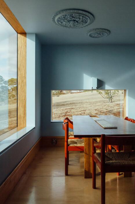 Изысканный гипсовый декор украшает личные апартаменты владельцев («Longhouse», Австралия). | Фото: worldarchitecture.org.