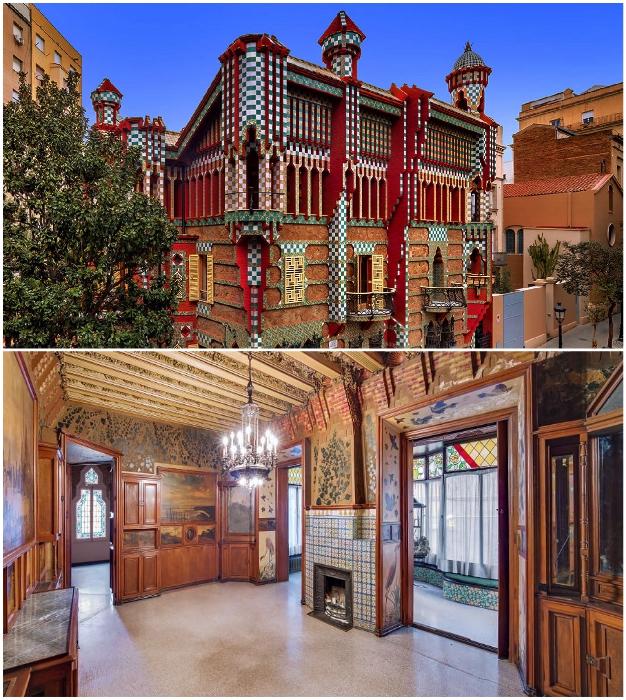 Гость проведет незабываемый вечер и ночь в фантастической красоты резиденции, который создал сам Антонио Гауди (Casa Vicens, Барселона).