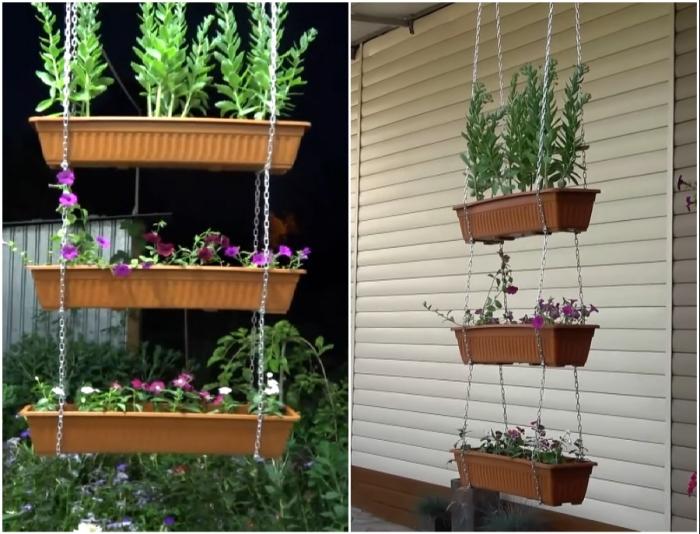 Остается высадить/установить цветы и наслаждаться их красотой и дурманящими запахами.