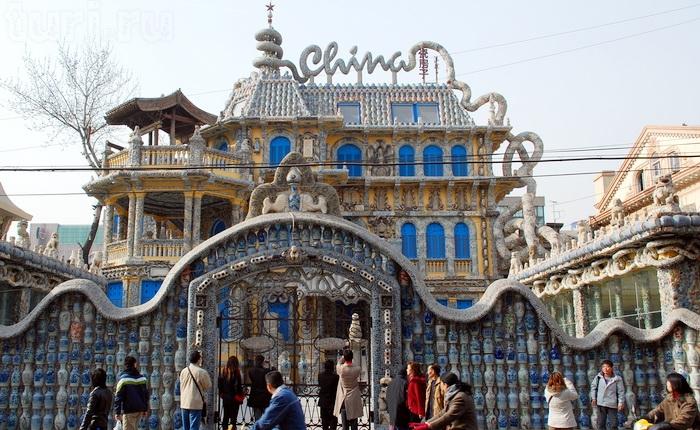 China Porcelain House стал главной достопримечательностью города (Tianjin, Китай).