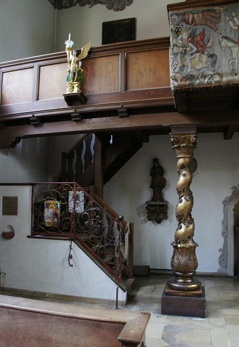 Внутреннее убранство церкви Фуггерая.