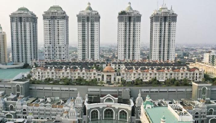 В Северной Джакарте есть элитный поселок на крыше торгового центра Mall of Indonesia, который построили в 2015 г. (The Villas, Индонезия). | Фото: gooto.com.