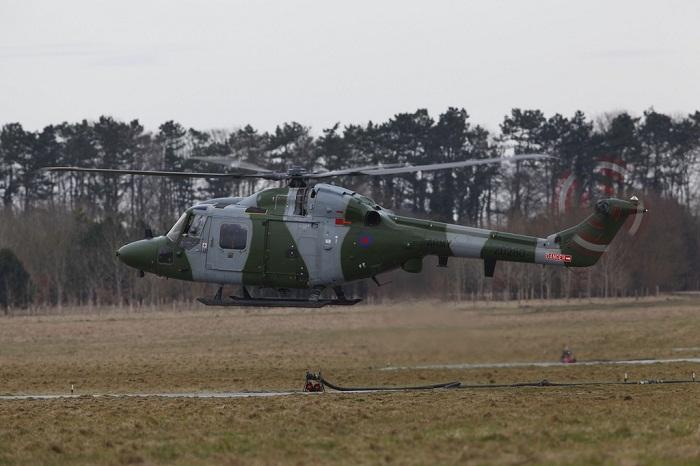 Так выглядит боевой вертолет Westland Lynx XZ262. | Фото: flickr.com.