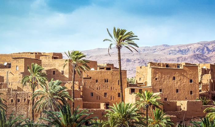 Египетский народ в древние времена жил в домах из кирпича, сделанного из грязи и соломы. | Фото: kuaibao.qq.com.