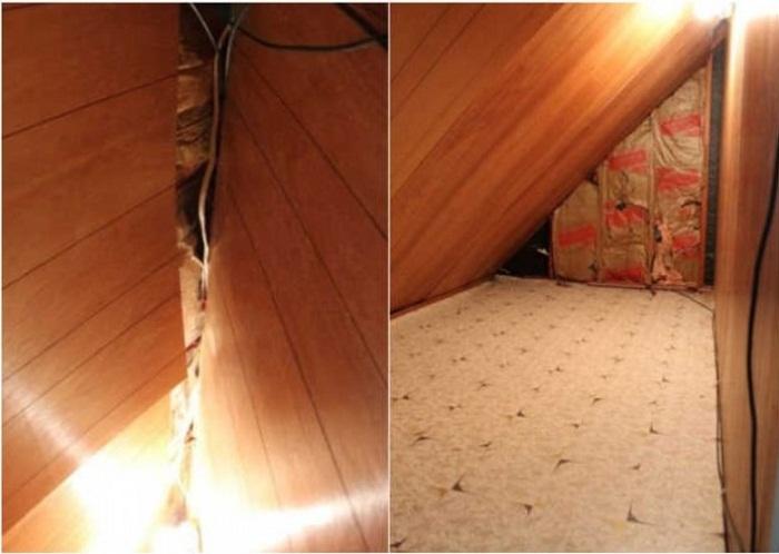 В таком плачевном состоянии была обнаруженная комната.
