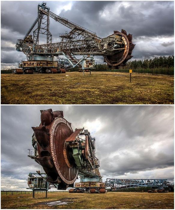 3500-тонный монстр копал землю в разных областях добычи полезных ископаемых (Германия). | Фото: eheavyequipmentoperators.com.
