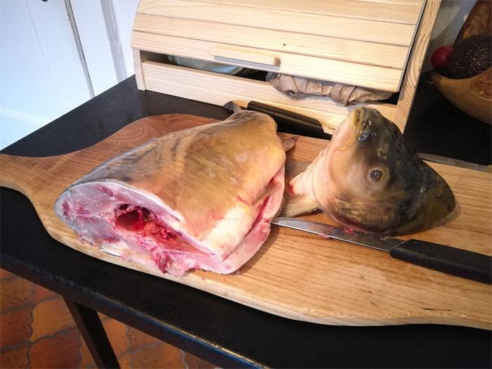 Девушка умеет ловить рыбу, ее разделывать и готовить на открытом огне. | Фото: imgur.com.