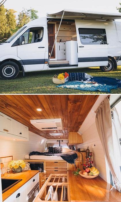 Владелец этого фургона считает, что «жизнь на колесах» замедляет течение времени. | Фото: tutkatamka.com.ua.