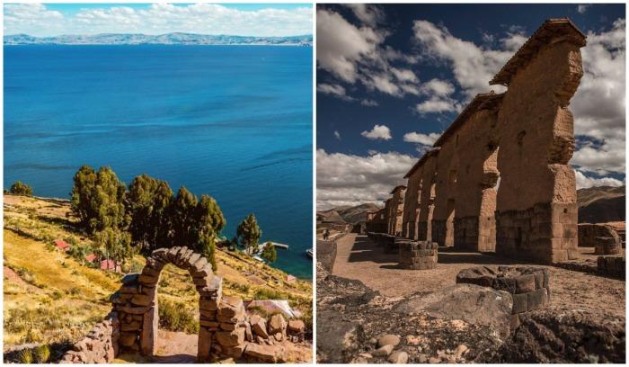 Исторические места, где зарождалась цивилизация инков, также включены в маршрут туристического поезда (Перу).