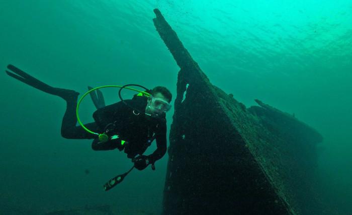 Государственный заказник «Тысяча островов» стал любимым местом для изучения дна водолазами. | Фото: guruturizma.ru.