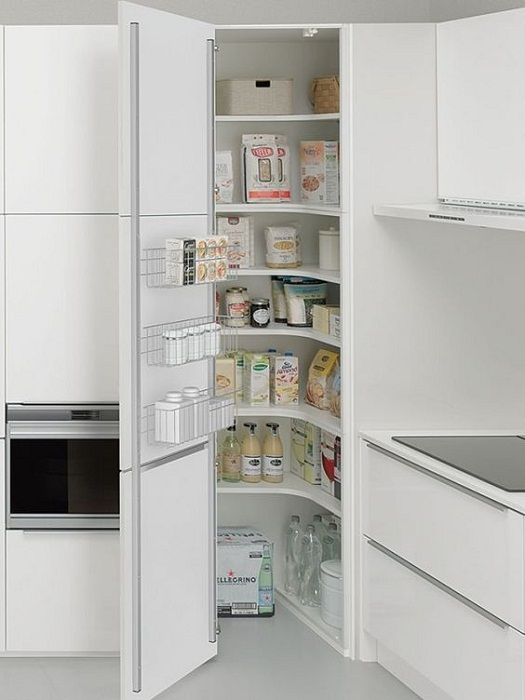 Угловая кухонная мебель