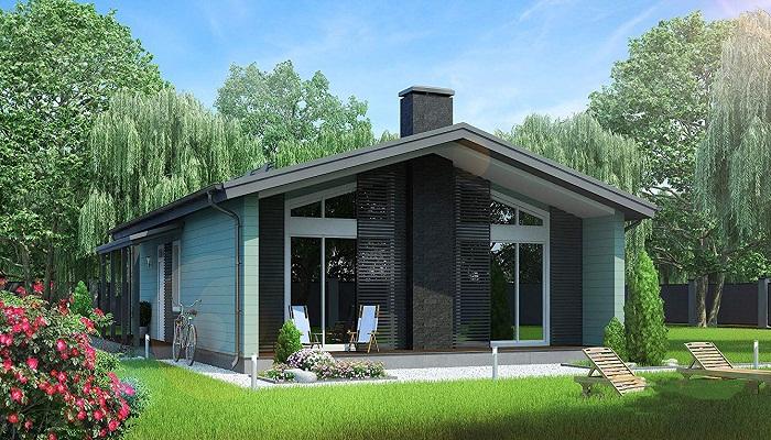Сборный деревянный коттедж для большой семьи. | Фото: amazon.com.