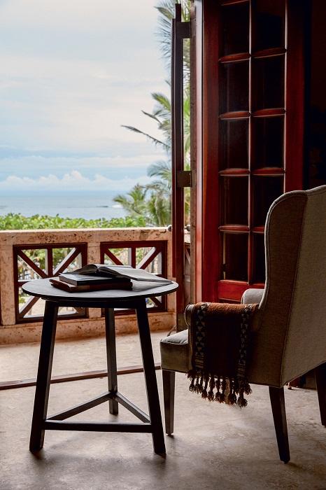 «Балкон Джульетты» с видом на океан - прекрасное место для отдыха и работы.   Фото: Тьяго Молинос (Tiago Molinos).