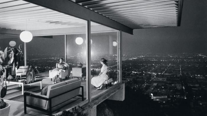 В середине прошлого века это фото стало символом американской мечты (проект дома Пьера Кенига в Лос-Анжелесе). | Фото: elledecoration.ru.