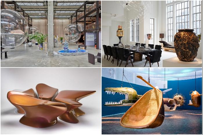 В арт-галереях можно увидеть коллекционные дизайнерские предметы, арт-экспозиции или инсталляции. | Фото: pinterest.com.