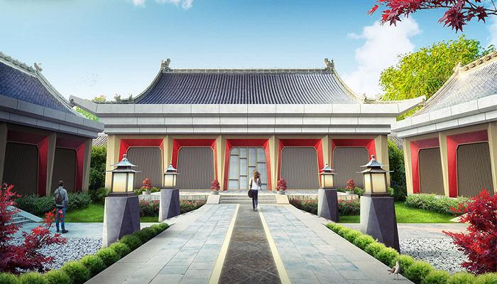 Старинный замок Сихэюань превратился в современный стильный особняк (Китай). | Фото: kuaibao.qq.com.