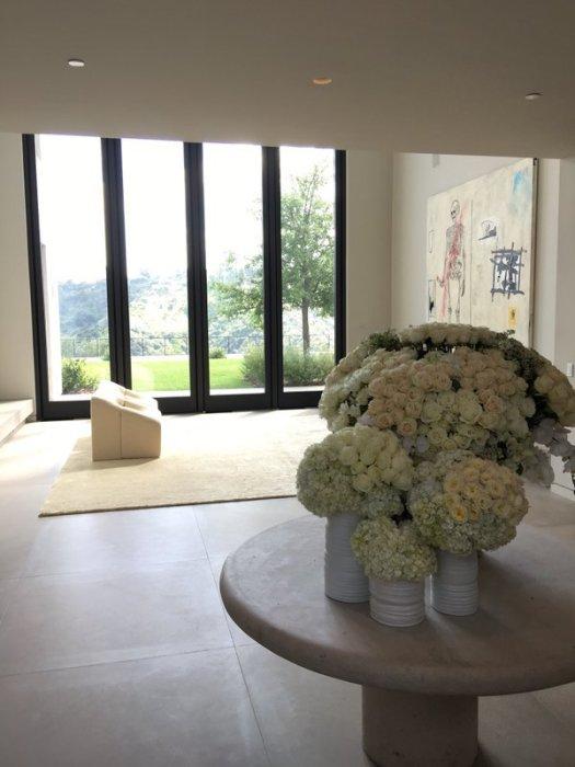 Новая резиденция звезды реалити-шоу Ким Кардашьян оформлена в минималистском стиле. | Фото: glamurchik.tochka.net.