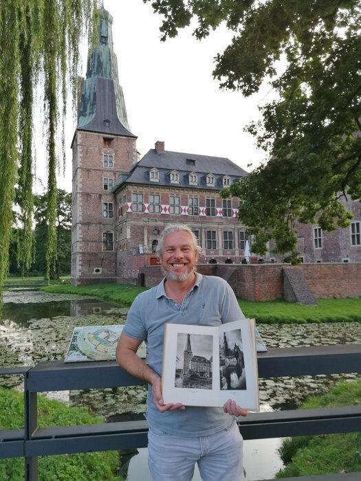Каспер Моленаар воссоздал столетние снимки известного немецкого фотографа, чтобы показать, как изменчив мир. | Фото: boredpanda.com.