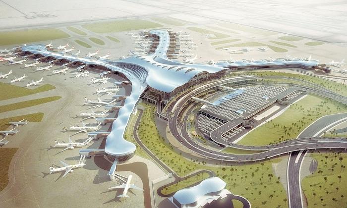 План реконструкции аэропорта Al Maktoum International (ОАЭ).