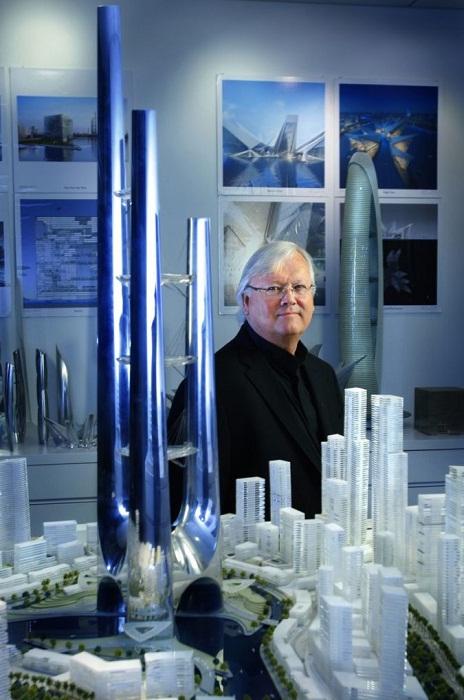 Эдриан Смит (Adrian D. Smith) — американский архитектор, прославившийся проектированием сверхвысоких зданий. | Фото: wsjournal.ru.