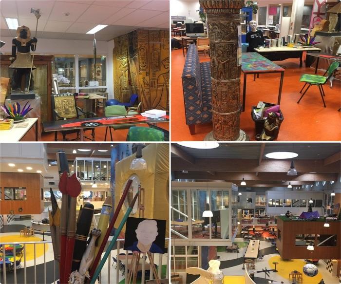 Каждый зал в школе Agora College оборудован так, что детям комфортно учиться, заниматься любимым делом и общаться с одноклассниками (Нидерланды). | Фото: twitter.com.
