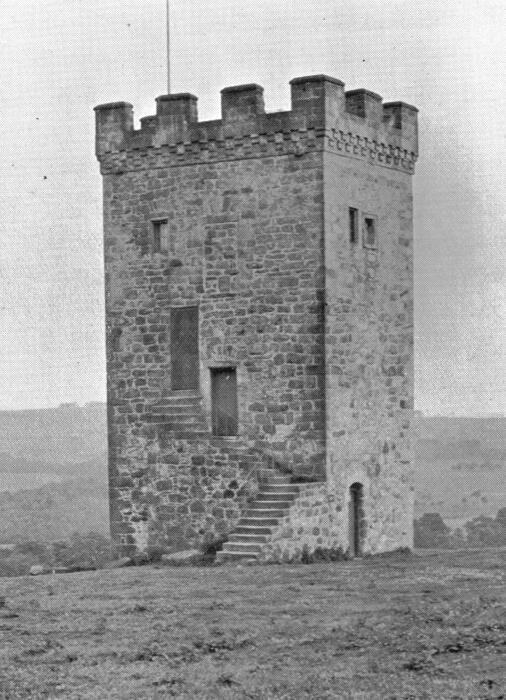 Башня Folly в 1900 г. (Caldwell Tower, Великобритания). | Фото: upload.wikimedia.org.