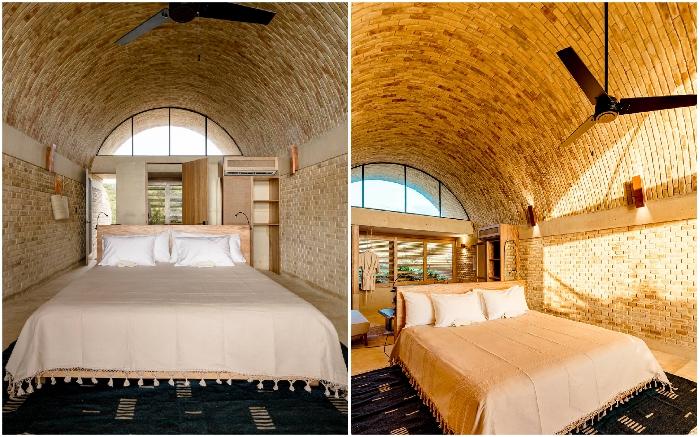 Простота и натуральность внутреннего убранства отеля Casona Sforza создают умиротворяющую атмосферу.