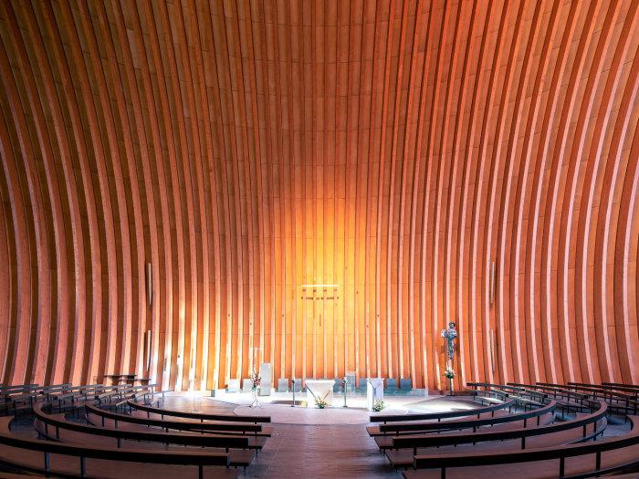 Собор Кретейской Богоматери, Кретей, Франция (Charles-Gustave Stoskopf, 2015). | Фото: ©Thibaud Poirier.