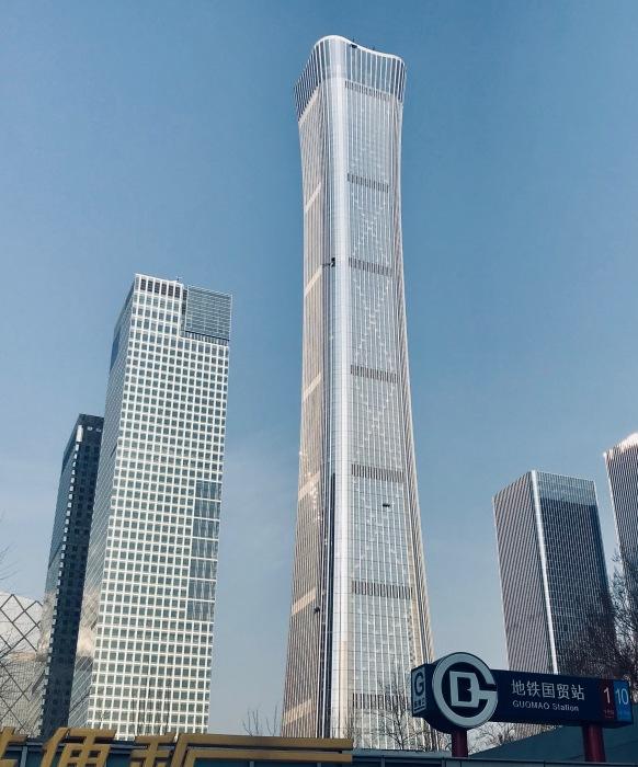 В сентябре 2019 состоялось торжественное открытие 528 м. небоскреба CITIC Tower (Пекин, Китай).  | Фото: ru.wikipedia.org.