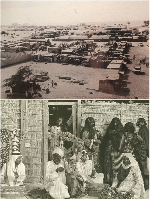 В таких условиях жил народ на территории Дубай до середины прошлого века. | Фото: ismail-shan.ucoz.com.