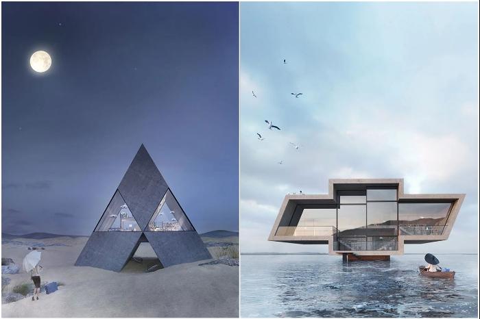 Логотипы известных брендов тоже могут стать источником вдохновения для архитекторов.   Фото: instagram.com/ © Wamhouse.