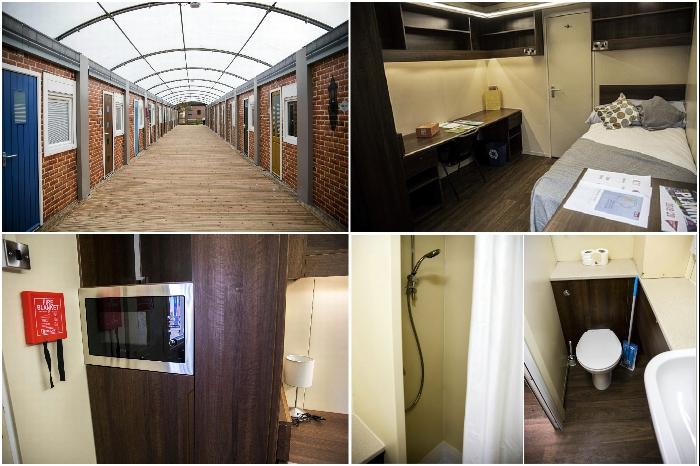 В каждой комнате общежития есть все необходимое для комфортного проживания студента (University of Bristol). | Фото: bristolpost.co.uk.