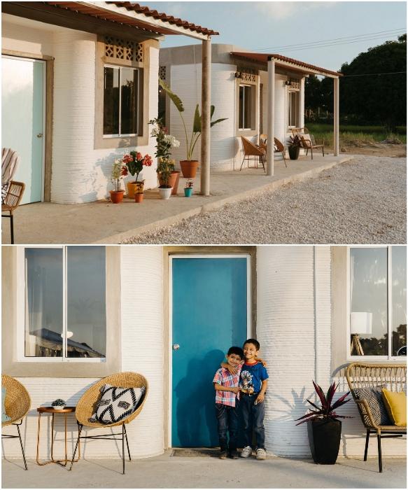 Каждый дом будет иметь свое подворье с огородом и открытой террасой. | Фото: en24.news/ newatlas.com.