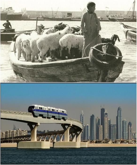 Если 50-60 лет назад по морю можно было передвигаться только на лодках, то теперь даже на метро. | Фото: ismail-shan.ucoz.com/ rest-trip.ru.