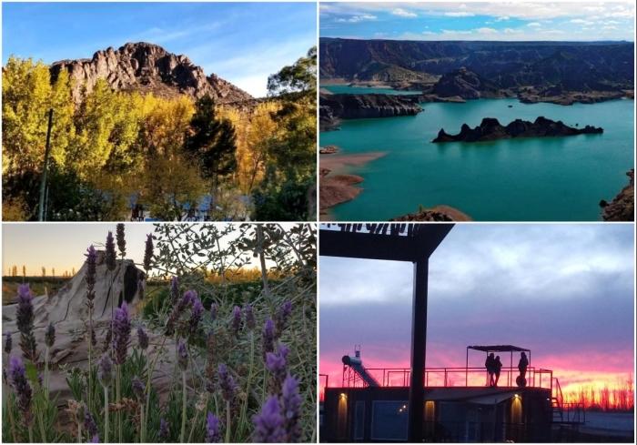 Гостевой дом расположен в живописном месте и любителям эко-туризма есть, где погулять и что посмотреть («CasArtero Eco Posada», Сан-Рафаэль). | Фото: containerhacker.com/ glampinghub.com.