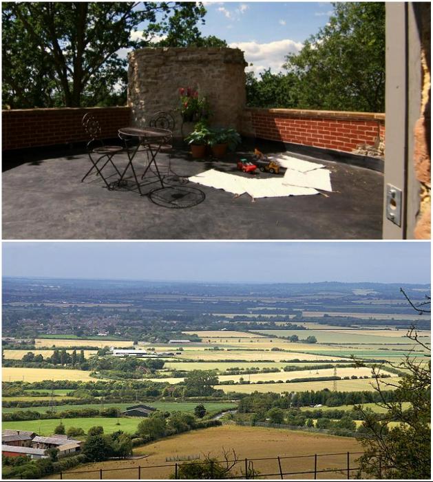 Открытая терраса на крыше – идеальная смотровая площадка и зона отдыха («Aylesbury Vale Buckinghamshire»). | Фото: homesandproperty.co.uk/ russianinengland.co.uk.