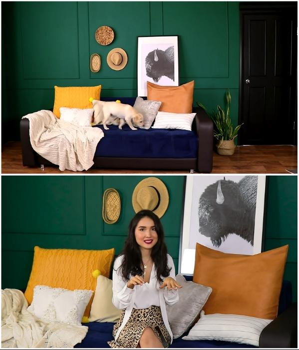 Результатом преображения квартиры-студии остались все довольны. | Фото: youtube.com/ © Fancy smth.